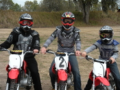 3 Person-3hr Dirtbike Adventure Tour Pkg.