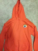 Sweat Shirt w/ Hood Orange
